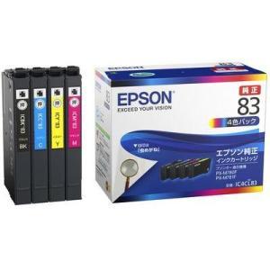 エプソン IC4CL83 純正 インクカートリッジ 4色パック tokka