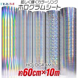 ホログラムシート 10メートル 約60cm×10m ホログラムステッカー ホログラムシール カッティ...