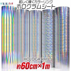 2枚目半額840円開催 ホログラムシート 1メートルサイズ 約60cm×1m ホログラムステッカー ...