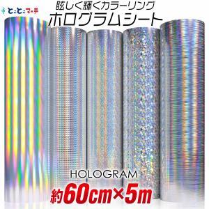 ホログラムシート 5メートル 約60cm×5m ホログラムステッカー ホログラムシール カッティング...