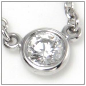 ティファニー Tiffany ネックレス ダイヤモンド0.08ctxプラチナ 12595816|toko-putih