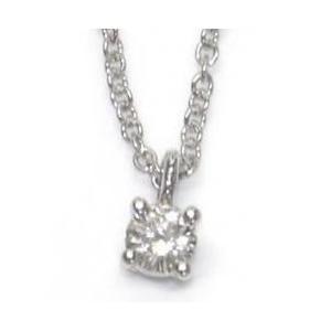 ティファニー Tiffany ネックレス 0.12ctxプラチナ 14001557