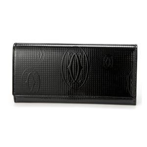 カルティエ 長財布 ブラック ハッピー バースデー L3001284 toko-putih