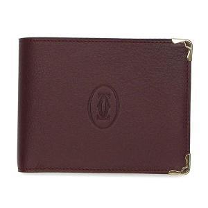 カルティエ 財布 二つ折り小銭入れつき マスト ドゥ カルティエ ボルドー L3001368 toko-putih