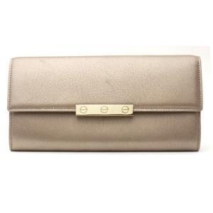 カルティエ Cartier 長財布 ファスナー付 ラブライン L3001374 シャンパンゴールド