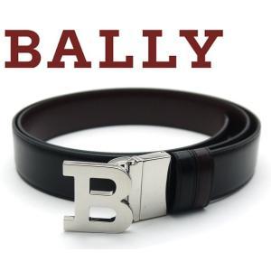 バリー BALLY ベルト リバーシブルメンズ Bバックル 6193208|toko-putih