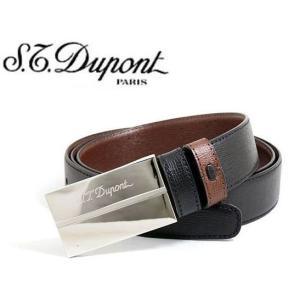 デュポン S.T.Dupont メンズリバーシブルベルト・7042020|toko-putih