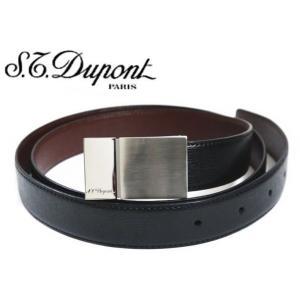 デュポン S.T.Dupont メンズリバーシブルベルト・7052020|toko-putih