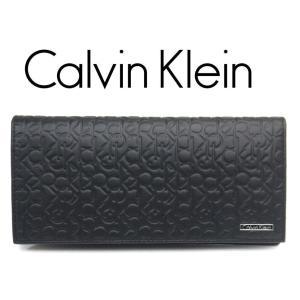 カルバン・クライン 長財布 メンズ 型押しカーフ 74283 toko-putih