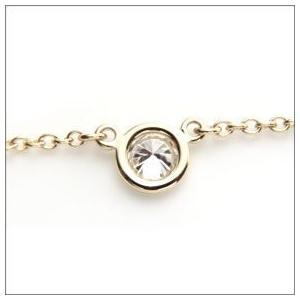 ティファニー Tiffany ネックレス ダイヤモンド0.12ctx18K YG 24834239|toko-putih