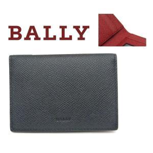 バリー BALLY カードケース ブラックxレッド BARDS.B  216|toko-putih