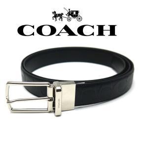 コーチ Coach ベルト リバーシブル メンズ F55158BK コーチ アウトレット|toko-putih