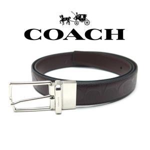 コーチ Coach ベルト リバーシブル メンズ F55158MAH コーチ アウトレット toko-putih