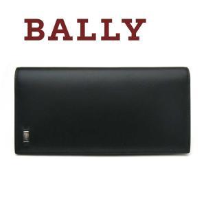 バリー BALLY 長財布 財布 メンズカード(小銭入れなし) ブラック MOLIVER|toko-putih