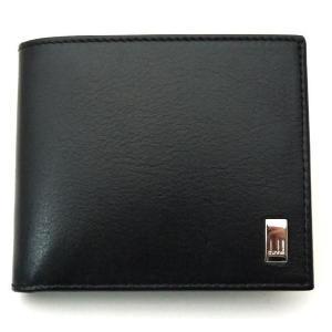 ダンヒル dunhill 財布 二つ折り小銭入れ付き・・サイドカーブラック QD3070A・|toko-putih