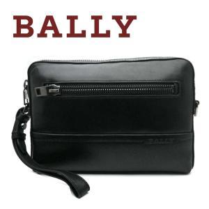 バリー BALLY セカンドバッグ メンズ TANEY ブラック|toko-putih