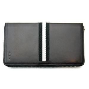 バリー BALLY 長財布 財布 ラウンド ブラック TEVIN 290|toko-putih