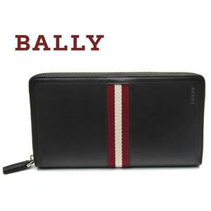 バリー BALLY 長財布 財布 ラウンド ブラウン TEVIN 271|toko-putih