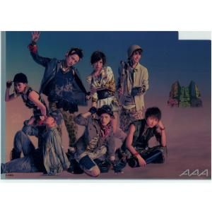 AAA>トリプルエー クリアファイル B Ver, TOUR 2013 Eighth Wonder ...