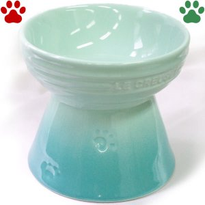ル・クルーゼ ハイスタンド ペットボール クールミント ペット ハイタイプ 食器 おしゃれ かわいい ルクルーゼ Le Creuset Pet|tokoton-dogfood