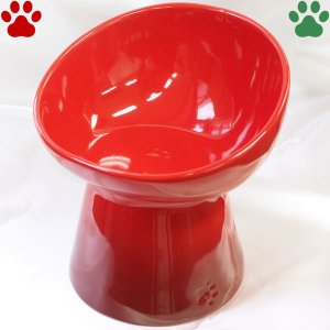 ル・クルーゼ ハイスタンド ペットボール ディープ チェリーレッド ハイタイプ 食器 おしゃれ かわいい 赤 ルクルーゼ Le Creuset tokoton-dogfood