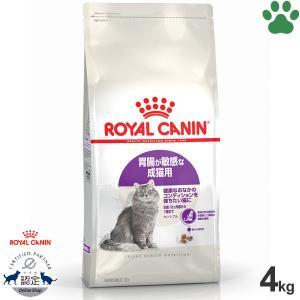 【35】 ロイヤルカナン 猫/ドライ センシブル 4kg 成猫(12か月以上) お腹の健康維持 フィーラインヘルスニュートリション|tokoton-dogfood