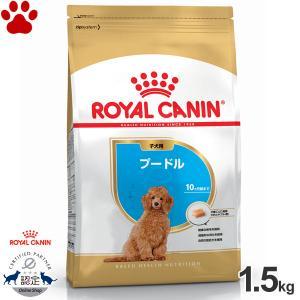 正規品 ロイヤルカナン 犬ドライ プードル 子犬用(10か月まで) パピー 1.5kg 犬種別 ドッグフード ドライ ロイカナ BHN|tokoton-dogfood