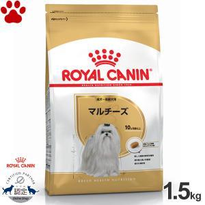 正規品 ロイヤルカナン 犬ドライ マルチーズ 1.5kg 成犬/高齢犬用(10か月以上) 犬種別 ドッグフード ドライ ロイカナ BHN|tokoton-dogfood