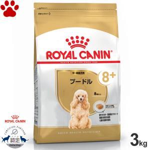 ロイヤルカナン 犬/ドライ プードル 高齢犬用(8歳以上) 3kg ブリードヘルスニュートリション|tokoton-dogfood