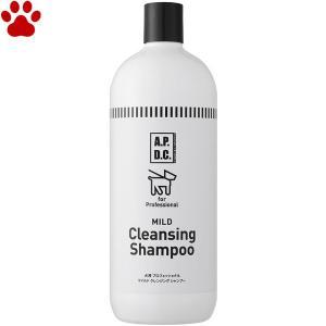APDC 犬用 マイルドクレンジングシャンプー 1L 高洗浄 しっかり洗い 皮脂汚れ 体臭 マイルドクレンジング シャンプー オーストラリア A.P.D.C. tokoton-dogfood