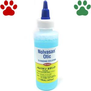 【2】 [正規品] ノルバサン オチック 118ml 犬猫用 耳洗浄剤 イヤークリーナー ノルバサンオチック|tokoton-dogfood