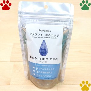 ケラモス ナチュラル ペット用 飲料水改水触媒 bee mee nee ビーミーニー 1パック(25g) 1Lあたり約20円 犬 猫 ペットウォーター|tokoton-dogfood