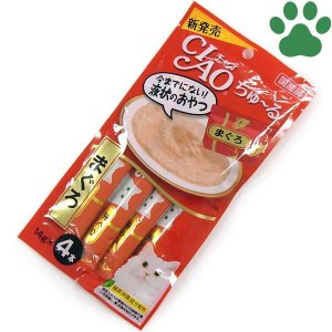 【1】 CIAO 猫用 おやつ ちゅーる まぐろ...の商品画像