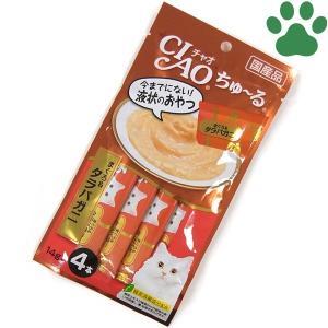 【1】 CIAO 猫用 おやつ ちゅーる まぐろ&タラバガニ...