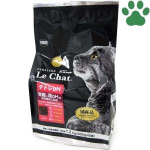イースター 猫ドライ プロステージ ル・シャット デトレpH 1.2kg (200g x 6袋) 腎臓と尿pHの健康維持 国産 ルシャット キャットフード tokoton-dogfood