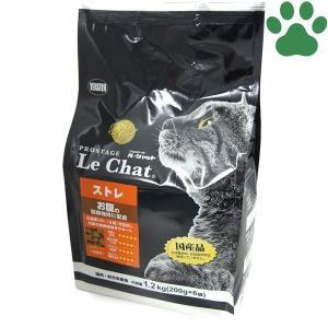 イースター 猫ドライ プロステージ ル・シャット ストレ 1.2kg (200g x 6袋) お腹の健康維持 国産 ルシャット キャットフード 成猫 小粒 tokoton-dogfood