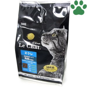 イースター 猫ドライ プロステージ ル・シャット ヌクレ 1.2kg (200g x 6袋) 免疫の維持 国産 ルシャット キャットフード 全年齢 小粒 tokoton-dogfood