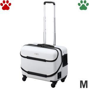 GEX OSOTOキャリー roller ローラー M ホワイト 小型犬 キャリーケース キャリーバッグ オソトローラー お出かけ 白 ジェックス|tokoton-dogfood