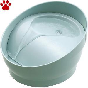 GEX ピュアクリスタル コパン 犬用 950mL スモークブルー 専用フィルター1枚付き 循環式 給水器 給水機 フィルター式 オシャレ ジェックス|tokoton-dogfood