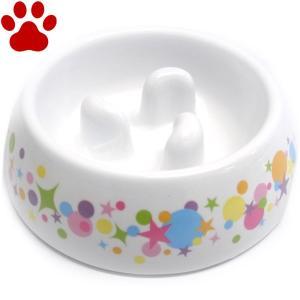 【7】 ドギーマン 犬用食器 ゆっくりデコボコ食器 Sサイズ 超小型犬・小型犬向き 早食い防止 スローフード プラスチック フードボウル