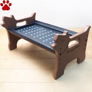 【20】 ドギーマンハヤシ 犬用食器台 洗える 外せる ドッグダイニング S