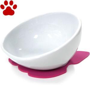 【30】 ハリオ フレンチブル専用フードボウル BUHIプレ ホワイト 滑り止めシリコンマット付き ワンプレ ブヒプレ フレンチブルドッグ 陶器 食器|tokoton-dogfood