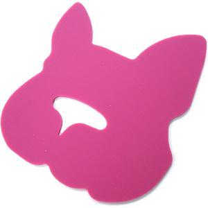 【30】 ハリオ フレンチブル専用フードボウル BUHIプレ ホワイト 滑り止めシリコンマット付き ワンプレ ブヒプレ フレンチブルドッグ 陶器 食器|tokoton-dogfood|02