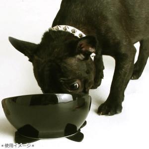 【30】 ハリオ フレンチブル専用フードボウル BUHIプレ ブラック 滑り止めシリコンマット付き ワンプレ ブヒプレ フレンチブルドッグ 陶器 食器|tokoton-dogfood|05
