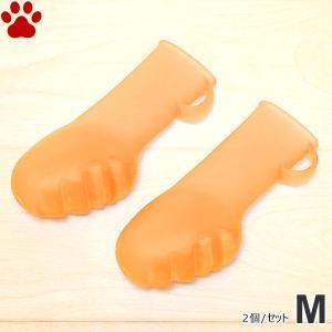 ペットアドバンス ドッグブーツ パウテクト M オレンジ 2個入 新パッケージ 小型犬 中型犬 日本製 オールシーズン 靴 お出かけ|tokoton-dogfood