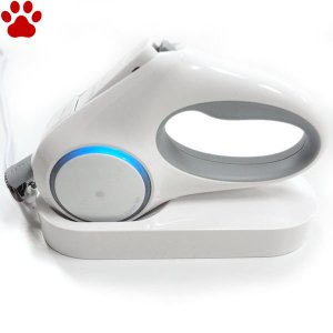 PETKIT ゴーシャイン・リード 犬用 伸縮式リード USB充電器付き 犬 オシャレ かっこいい ホワイト DADWAY ダッドウェイ ペットキット|tokoton-dogfood