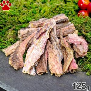 ZEAL エアドライ ナチュラルペットトリーツ ワイルドコート キンムツの皮 125g 無添加 犬 魚 フィッシュ ドッグ Ling Fish Skins ジール|tokoton-dogfood
