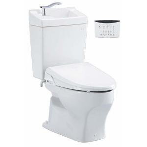 sc8050-sgb-w ジャニス工業 ココクリンIII 床排水用 便座(普通便座)・手洗いタンク付...