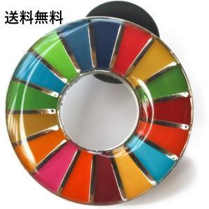 SDGs ピンバッジ  国連 本部限定 正規品 日本未発売 (丸型)