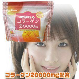 モアプラス あふれるコラーゲン粉末タイプ マンゴー風味 200000mg(250g)/あふれるコラーゲン粉末|toku109shop